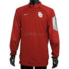 New $90 Nike Mens Oklahoma University CD Hybrid Pullover Shirt Jacket Sooners