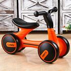Children Balance Bike Kids Ride On No Pedal Bicycle Baby Walker Infant Cool Gift