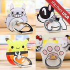 Cartoon Kawaii Ring Stand Safe Finger Grip Mount Holder Smartphone iPhone Cute