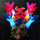 Christmas Glowing Toys Antlers LED Hairbands Headband Party Xmas Decor Prop