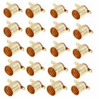 US 1/20pcs E10 Copper Light Bulb Screw Base Socket Lamp Holder Electronic set