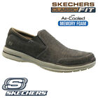 MENS SKECHERS CLASSIC AIR COOLED MEMORY FOAM WALKING ANKLE TRAINERS SHOES SIZE