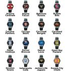 Pro Football Superbowl Variety Team Logo Unisex Analog Leather Wrist Watch Set 1 on eBay