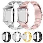 New Apple Watch Series 3/2/1 Stainless Steel Wrist iWatch Band Strap+ Case Cover image