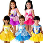 Disney Princess Ballerina Girls Fancy Dress Fairytale Book Day Childrens Costume