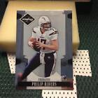 philip rivers 2008 leaf limited #80 - san diego chargers
