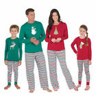 Family Matching Christmas Pajamas Sets Cotton Printing Sleepwear For the Famliy