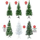 Artificial Green Xmas Trees Christmas Festive Decoration Snow Tipped Pine Cone