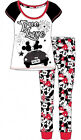 Offcial Ladies Disney Minnie And Mickey Mouse Pyjamas