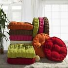 Thicken Corduroy Window Cushion Mat Pad Seat Home Office House Floor Chair