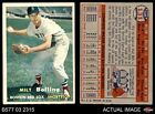 1957 Topps #131 Milt Bolling Red Sox EX