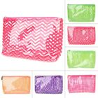 clear cosmetic bags for travel - Cosmetic Bag Clear Wave Toiletry Waterproof Makeup Pouch For Women Travel
