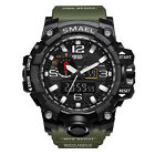 Men's Shockproof Military Digital Wrist Watch Sport Quartz Analog LED Waterproof image