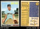1970 Topps #163 Syd O'Brien Red Sox NM