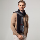 Autumn And Winter Middle age Imitation cashmere scarf Multi-color optional scarf