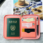 PLEPIC - Travel Brief Pocket - Travel Organizer Ziparound Wallet Passport Holder