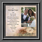 prayer for marriage - **NEW** Prayer for you Marriage, Personalized Picture Frame, 10X10 6757