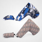 Multi-function Magnet Naval Camouflage Golf Blade Putter Head Cover Headcover