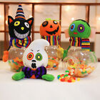 Halloween Party Bottle Case Candy Jar Household Children Gift Can Bin Decor Box