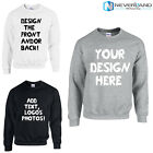 Custom Name Text Photo Logo Your Design Cotton Warm Sweatshirt Hoodies Unisex