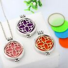 Hollow out Four Leaf Clover Open Aromatherapy Noctilucent Pendant Necklace new
