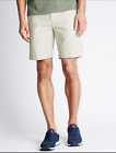 M&S Pure Cotton Shorts Light Stone BNWT Marks & Spencer