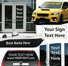 (Reflective) Vinyl Lettering / Any Size, Color, Text for Vehicle, Windows & More