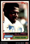 1981 Topps #520 Fred Dean -  Chargers NM/MT $1.25 USD