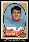 #173 Walt Sweeney Chargers NM $8.25 USD