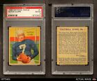 1935 National Chicle #1 Dutch Clark  Eagles PSA 2 - GOOD