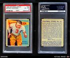 1935 National Chicle #34 Bronko Nagurski  Bears PSA 4 - VG/EX