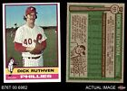 1976 Topps #431 Dick Ruthven Phillies NM
