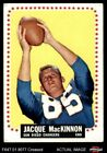 1964 Topps #167 Jacque MacKinnon Chargers VG $12.5 USD on eBay