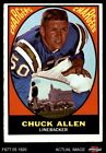 1967 Topps #129 Chuck Allen -  Chargers VG/EX $3.0 USD
