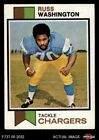1973 Topps #199 Russ Washington Chargers EX/MT $1.25 USD
