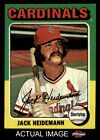 1975 Topps Mini #649 Jack Heidemann Cardinals EX MT