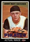 1967 Topps #379 Jerry May Pirates NM MT