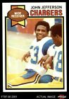 1979 Topps #217 John Jefferson Chargers NM/MT $11.5 USD on eBay