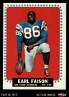 1964 Topps #157 Earl Faison -  Chargers EX $3.75 USD