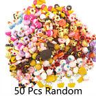 LOT 50Pcs Fast food&Rilakkuma Squishy Charms Squeeze Slow Rising Toys Dulcet New