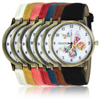 New Women's Girls Fashion Ladies Butterfly Casual Watch Quartz Watch #UK