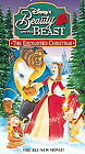 FACTORY SEALED! Beauty and the Beast VHS The Enchanted Christmas Walt Disney