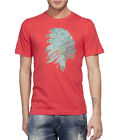 Clifton Men's Printed Half Sleeve R-Neck T-Shirt-Water Melon-Tribe-1