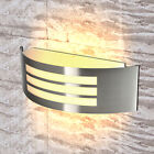 Modern Stainless Steel LED Wall Light Sconce Lamp Outdoor & Indoor IP44 E27 Bulb