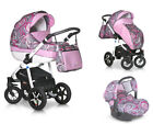 PEPE ECO ITALIAN DESIGN Kombi Kinderwagen 3in1 Travel System 39 Farben