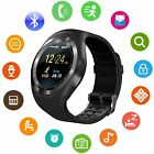 Smart Watch SIM Card Slot Camera Remote Control for Android/IOS Smartphone Y1