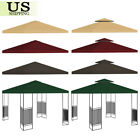 10'x10' Gazebo Tent Top Canopy Replacement Sunshade Patio Outdoor Garden Cover