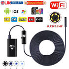 6LED Wireless Endoscope WiFi Borescope Inspection HD Camera for Android iPhone C