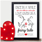 Beauty and the Beast PERSONALISED Couples Christmas Xmas Gifts Presents Keepsake