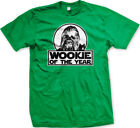 Wookie Of The Year Rookie Movie Character Science Fiction Joke Fun Men's T-Shirt $15.65 CAD